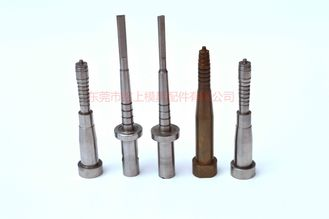 China ISO9001 Precision Mould Parts Screw Core Pins Verticality Within 0.005mm supplier