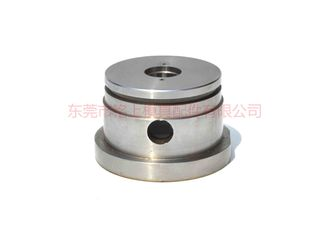 China Alloy Steel SKD61 Cnc Turned Components Wear Resistant Black Coating Surface Treatment supplier