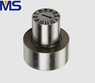 China Flash Replaceable Steel Mold Date Inserts American Standard 48-54HRC Hardness supplier