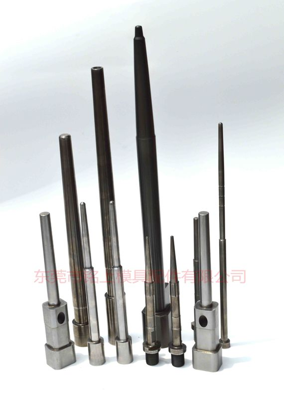 Length 500mm Die Casting Mold Parts , Straight Ejector Pins For Car Moulding