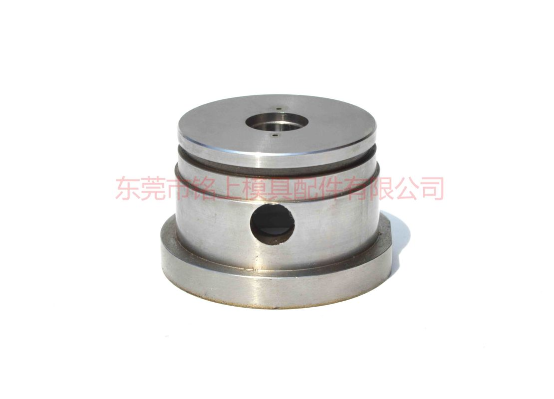 Alloy Steel SKD61 Cnc Turned Components Wear Resistant Black Coating Surface Treatment