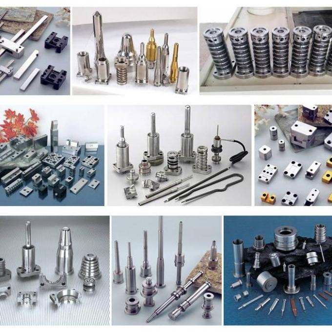 Precision Plastic Injection Molding Parts Polished Surface Treatment With Screw