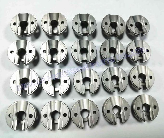 Nitrided DC53 Non - Standard Precision Mould Parts / Mold Base Mold Spare Parts
