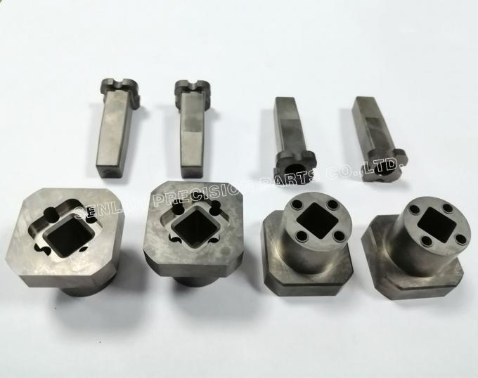 Custom Nitrided Precision Mould Parts Mold Cavity Set Parallelism 0.01mm 0