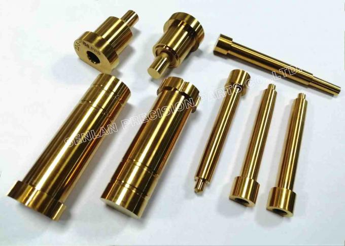 ISO9001 Precision Core Pins For Die Casting Molding 46-48HRC Hardness 0