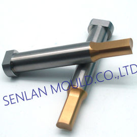 Stepped Progressive Mould Die Punch Pins HSS Material With TIN Coating
